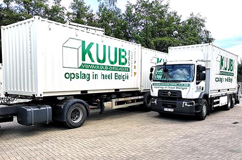 Levering van opslagcontainers In Gent