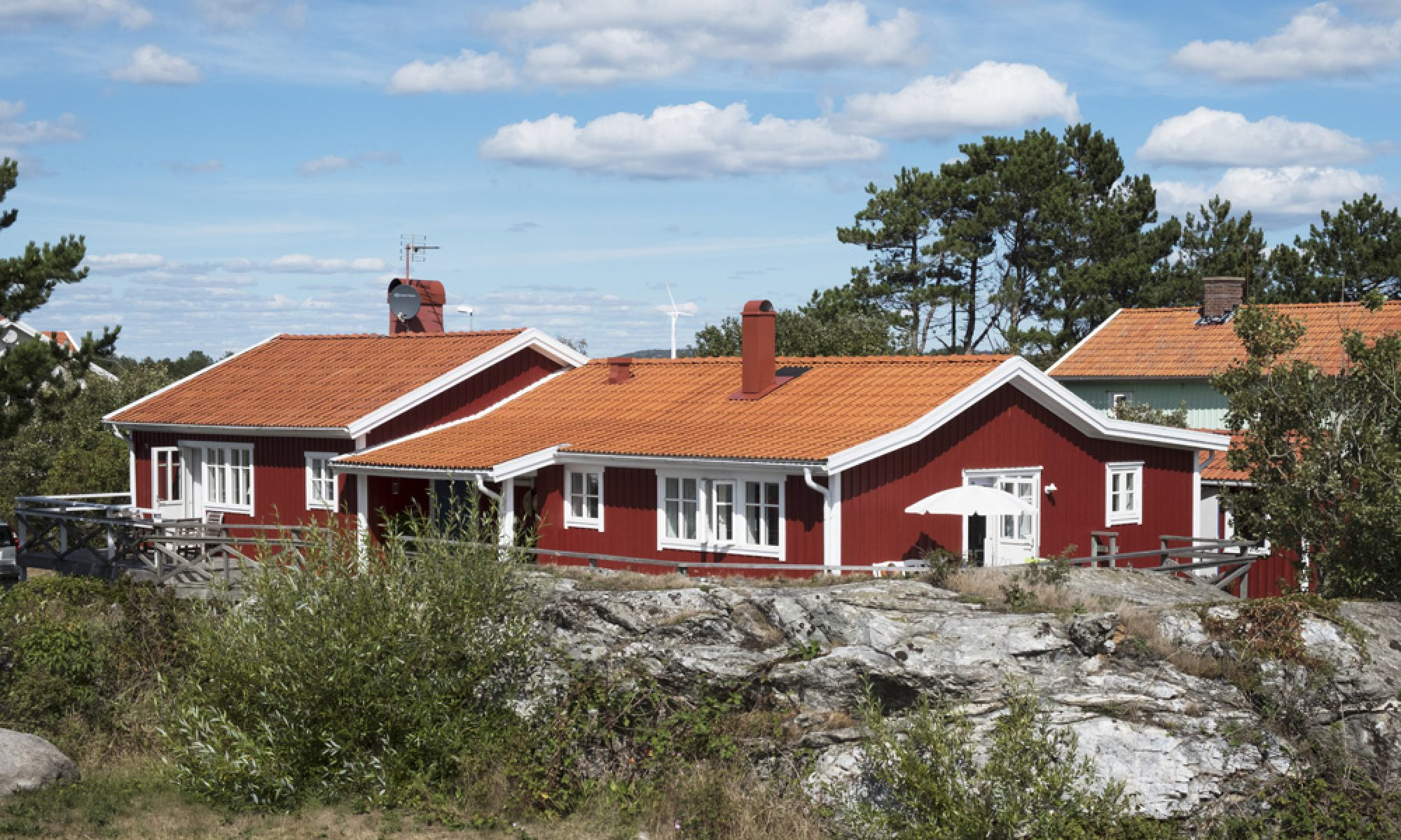 kvarnstugan - charming holiday house in Mollösund, West Sweden
