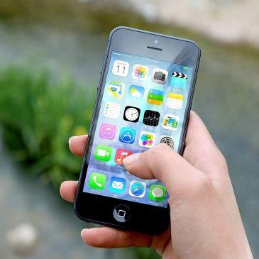 Öppna felleshuset med mobilen