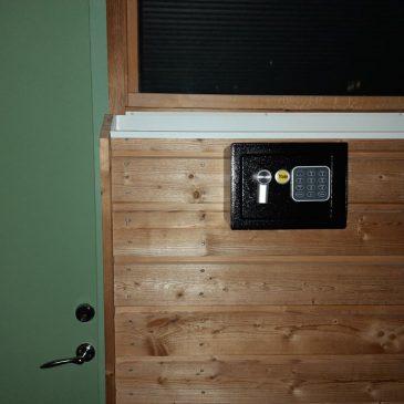 Ny rutin för nycklar övernattningsrum