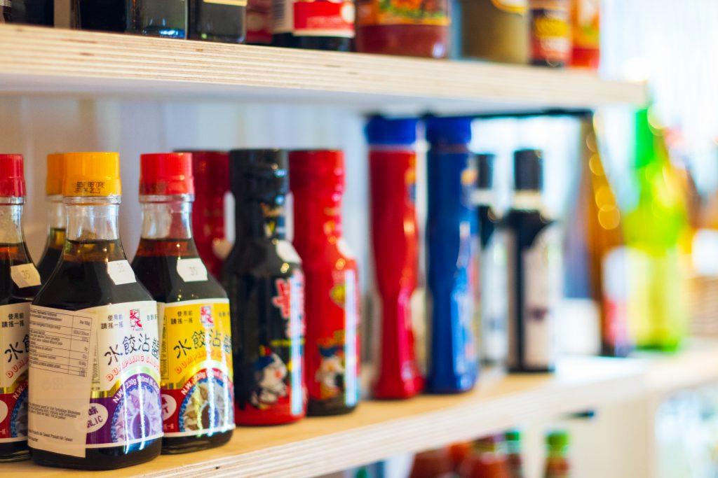 Asiatiska såser och kryddor