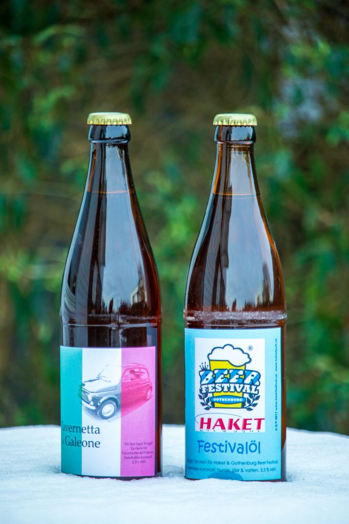 egna etikettor öl