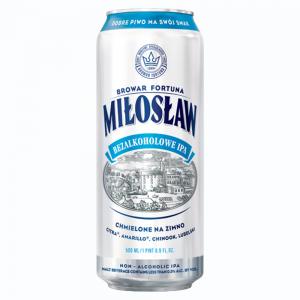 Browar Fortuna Miloslaw alkoholfri IPA-whitebg