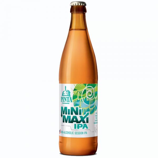 PINTA-MINI MAXI IPA - Non alcoholic Session IPA-whitebg