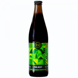 FOR.REST, non-alcoholic Forest IPA-whitebg