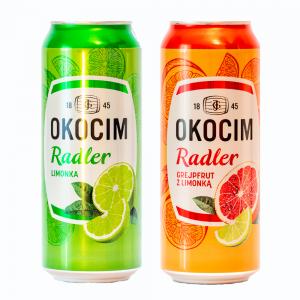 OKOCIM Radler -all-white