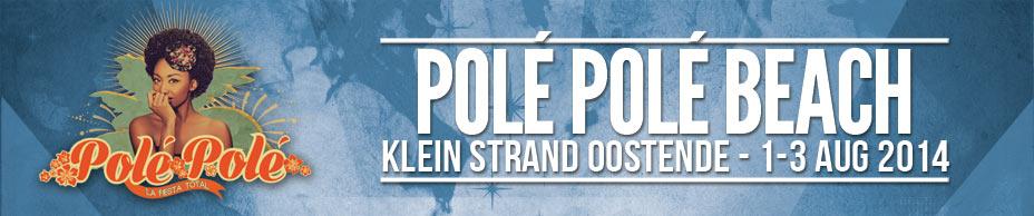 Polé Polé Beach logo 2014