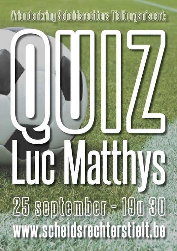 quiz luc matthys 2015