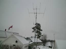 LA6GIA antenne system