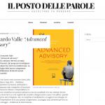"LATINA, il manager pontino Leonardo Valle presenta ""Advanced Advisory"""