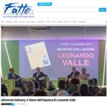 """Successo per la prima pontina di """"Advanced Advisory"""", libro del manager Leonardo Valle"""