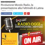 """""""La Radio oggi, tra innovazione e servizio"""", incontro alla Feltrinelli"""