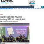 Advanced Advisory SAVE THE DATE 19 Dicembre Latina