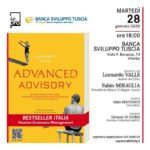 """Banca sviluppo Tuscia protagonista della presentazione del libro """"Advanced Advisory"""""""