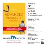 Advanced Advisory Rinviato Tour