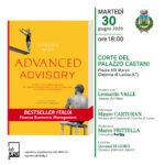 Advanced Advisory SAVE THE DATE lunedì 6 luglio 2020 Roma