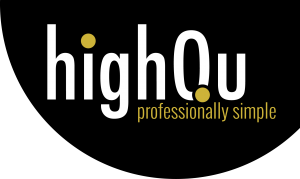 highQu - Logo_black_round