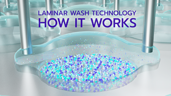 Laminar Wash how it works video