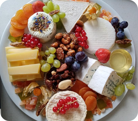 plateau fromage garnis