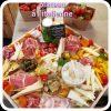 plateau à l'italienne en repas