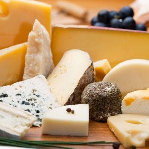 Plateau de fromages en dessert