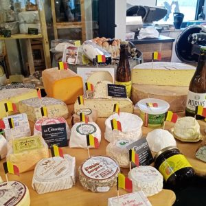 Plateau fromage en repas