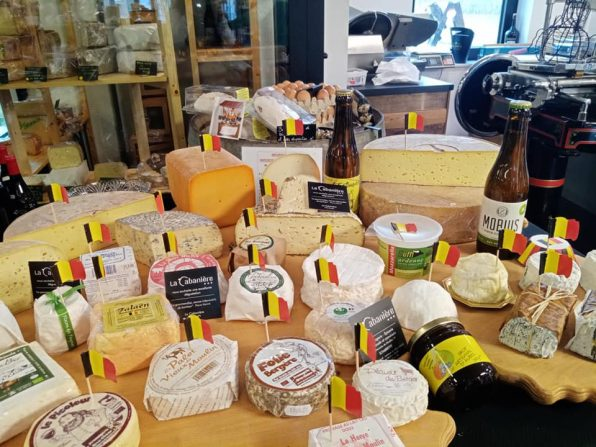 Plateau fromage repas
