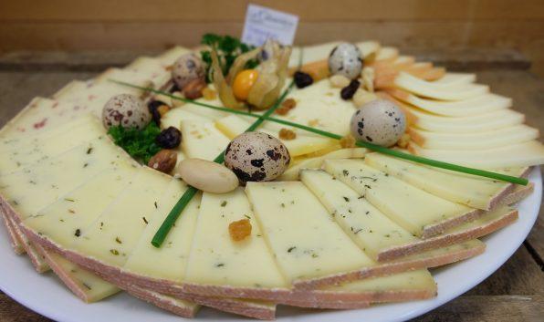plateau fromage varié