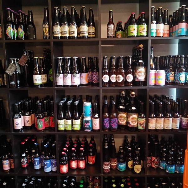 Stock de bières spéciales