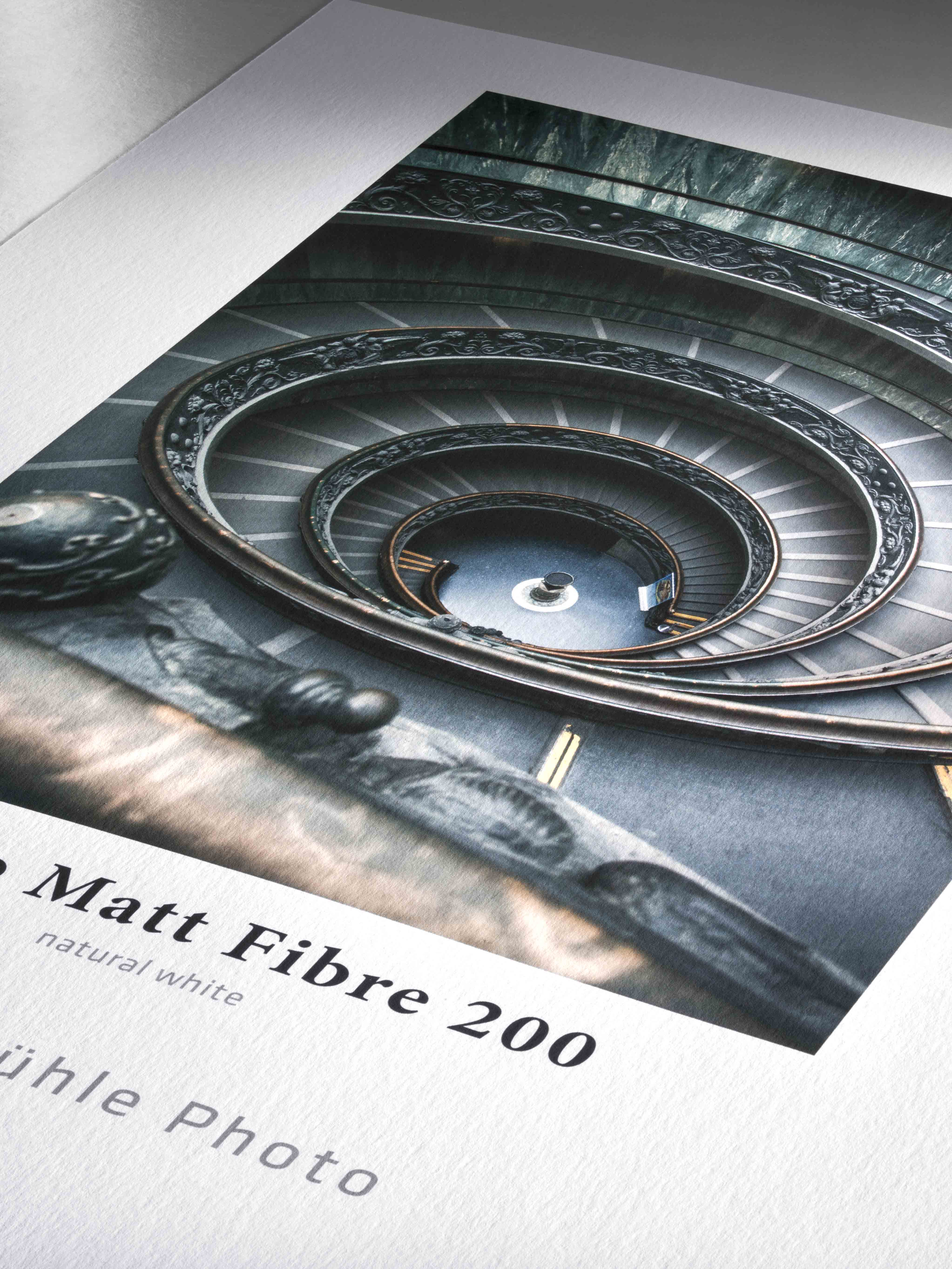 Hahnemühle Photo Matt Fibre 200. Papier mat 200 g/m². Utilisation quotidienne.
