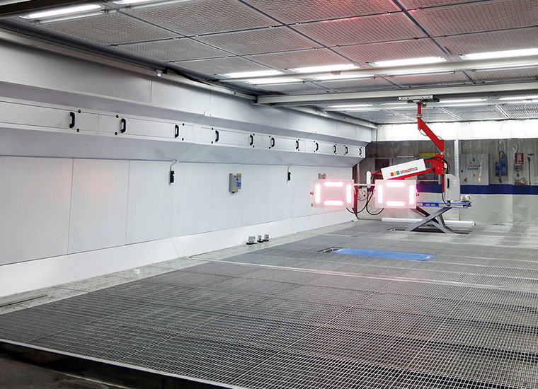 Infrarot-Trocknungs-System IRS DST580