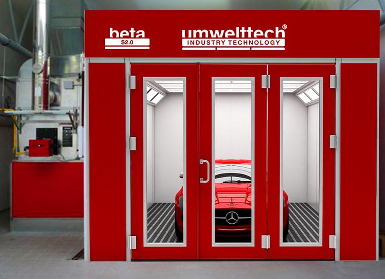 Lackierkabine Trockenkabine BETA S 2.0