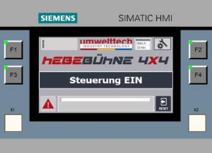 Hebe- und Richtbühne HRB HR900