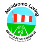 logotipo aeródromo loring