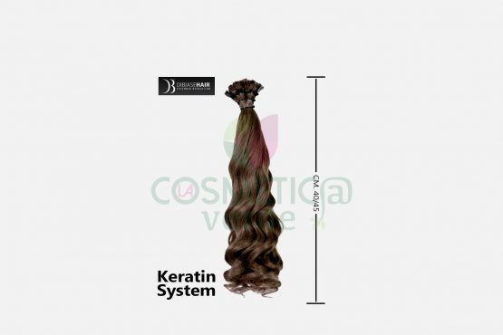 Hair Extension Ondulata DiBiaseHair con Cheratina