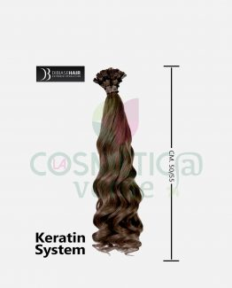 hair extension ondulate con cheratina dibiasehair