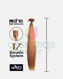 she rewo hair extension con cheratina