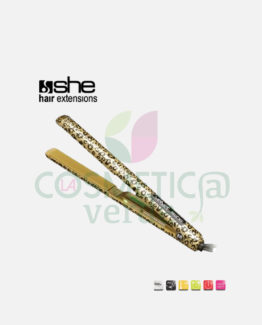 Velvet Gold Ceramic Piastra per Capelli She