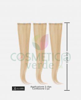 Hair Three Easy con Clips Capelli 100% Naturali DiBiaseHair