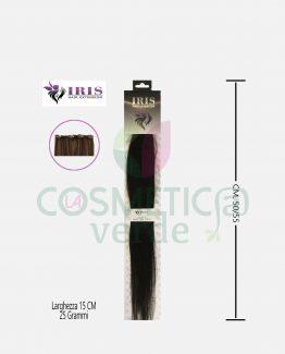 Easy 25 Gr Hair Extension con Clips in Capelli Naturali Iris