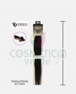 Extension Small con Micro Ring in Capelli Naturali Iris