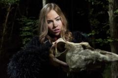 Anna og Kranie_Clean - Lad De Døde Hvile (c) 2018 PURE FICTION FILM fotograf Sune Tølløse