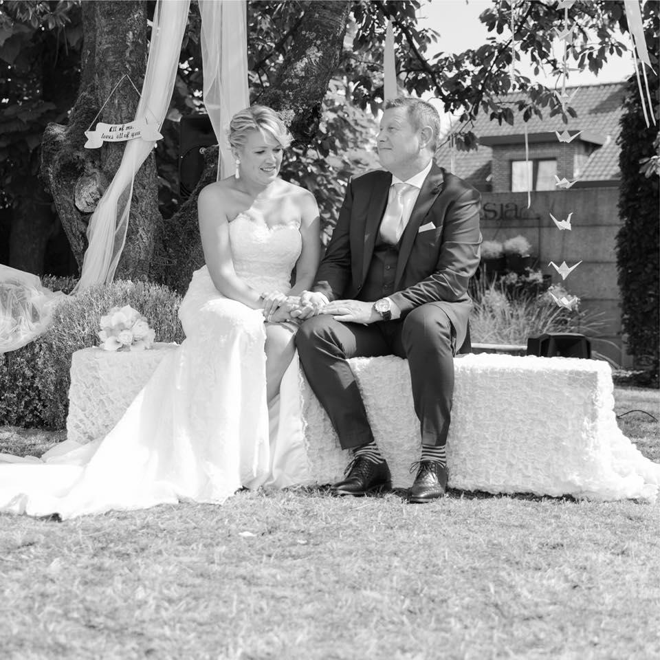 liefde tuin huwelijk aanzoek trouwen