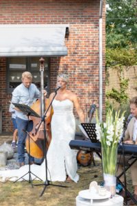 live muziek en zang huwelijk lady hill