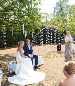 bohemian huwelijk in de tuin lady hill