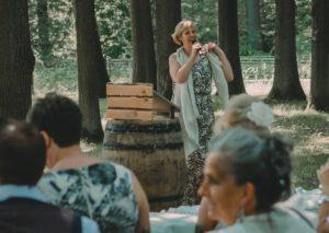 trouwen in het bos door lady hill