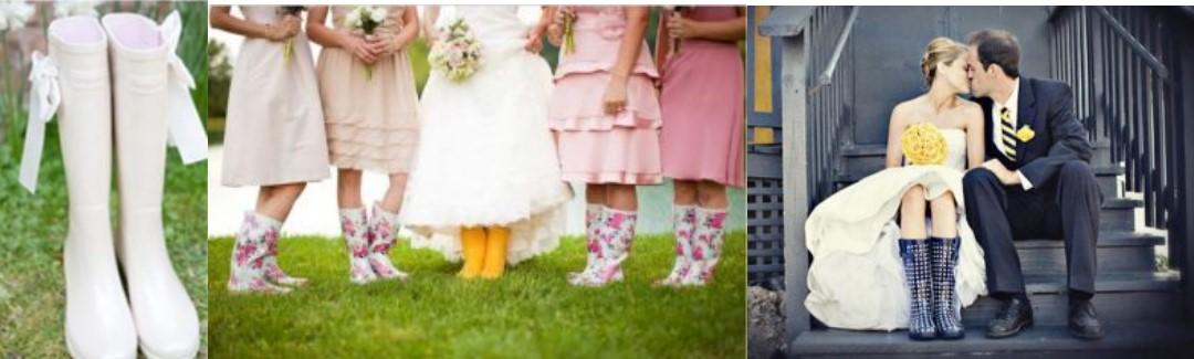 trouwen in de regen