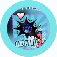 lady hill loves vinyl