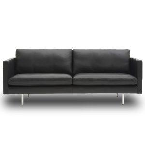 Nielaus Handy 2,5 pers. sofa - sort læder