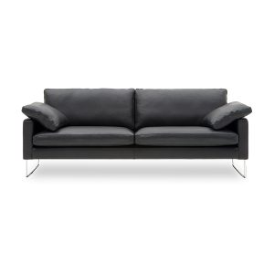 Nielaus Handy 3 pers. sofa - sort læder